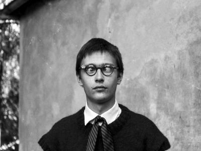 OLD_0623_35 Autoportret w stylu lat trzydziestych (sierpień 1979)